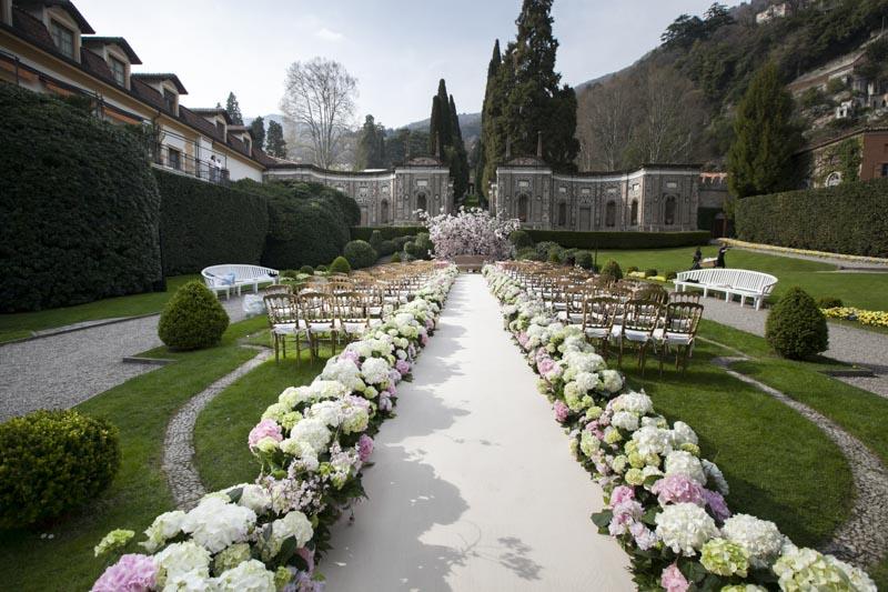 Villa d 39 este and the saudi prince 39 s wedding women in for Vajilla villa d este
