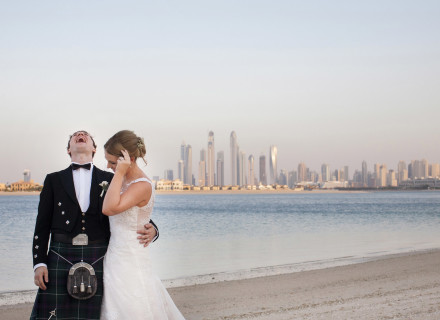 Scottish Wedding Dubai