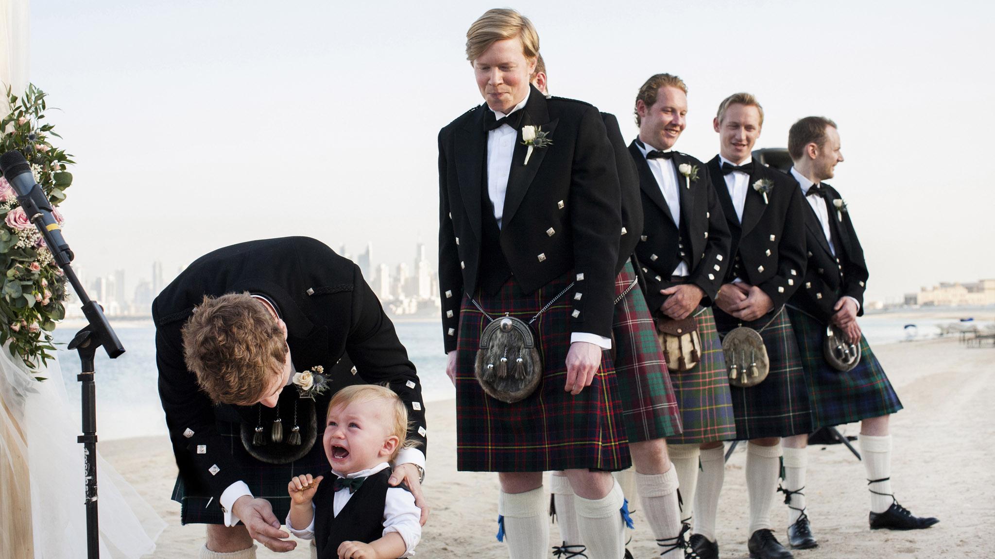 Scottish Wedding Dubai